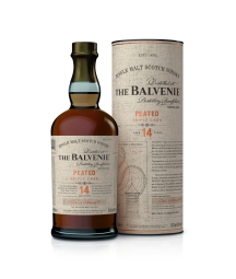 The Balvenie Peated Triple Cask Bottle & Tube